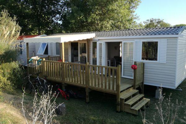 Passez vos vacances dans un mobil-home de luxe au camping La Fage